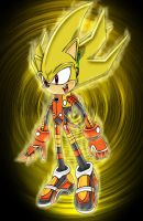 Super Sonic in PSO costume by footman