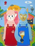 American Gothic - Animal Crossing by egyptianruin