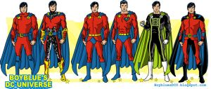 Evolution of Mon-El / M'onel (Lar Gand) by BoybluesDCU