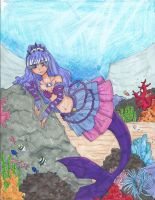 Contest Entry: Karen Mermaid Melody by fabprincesscut