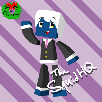 2nd Day of Christmas! TheSquidHQ by Skyelre
