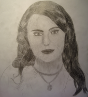 Sharon den Adel by L-Justine