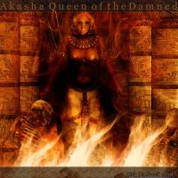 VC: AKASHA Queen of the Damned by Rickbw1