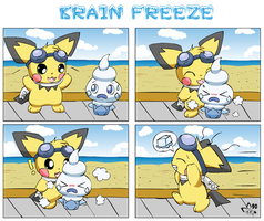 Brain Freeze by pichu90