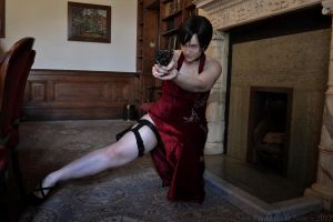 Ada in the castle by Frederica-La-Noir