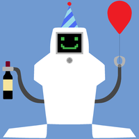 Partybot by saffronpanther