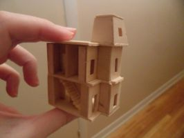 Teeny Tiny Dollhouse: Townsend Towers Wood Version by kayanah