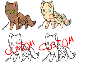 Winged Cat Adoptable Batch 14 (closed) by hazelfootpineclan