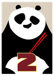 Poster Kung Fu Panda Minimalist by r4cch