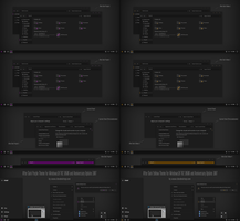 After Dark Purple, Yellow For Win10 Version 1607 by Cleodesktop