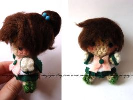 Sailor Jupiter Amigurumi by AnyaZoe