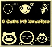 8 Cute PS brushes by teenah by XXhuMandoLLXX