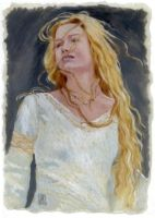 Miranda Otto as Eowyn by The-Tinidril