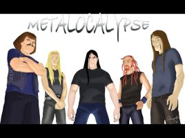 Metalocalypse Drawing 06 by andys184