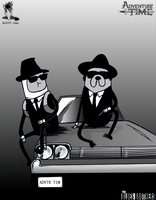 The Blues Brothers' Time by BullittJaleo
