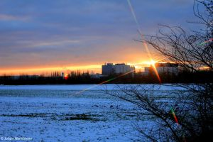 Snowsunset 2 by jochniew