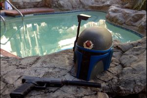 Fett Pool time by Ghost141