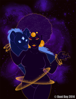 Goddess of the Universe by FlantsyFlan