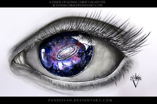 A Study of LethalChris' Galaxy Eye. by PandiiVan