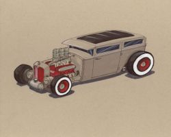 "Rat Rod 2 ""Rat Rodicous "" by Jepray"