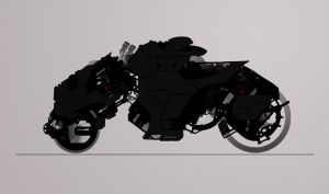 WIP Bike Concept by rickystinger88