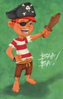 Pirate Kid by 2BeanSoup