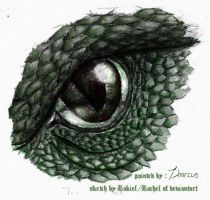 Serpent Eye by Zharcus