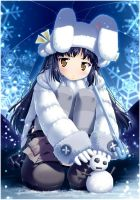 girl in winter by Hinata411
