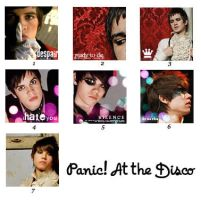 Icons - Panic at the Disco by huby
