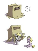 Derpy in a Box by Kangaeien
