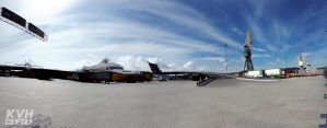 Larvik Ferry Port by theKovah