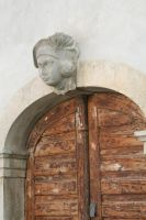 view to old  door by ingeline-art