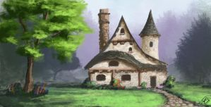 Fairytale House by jjpeabody