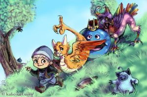 Dragon Warrior Monsters by kalicothekat