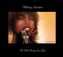 Whitney Houston by mykalg66