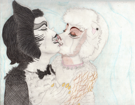 A Tender Kiss by Migueles-the-Cat