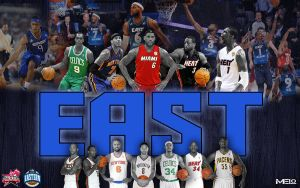 NBA Eastern All Stars 2013 by carmelosidd