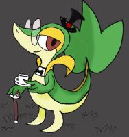 Sir. Snivy by TheAverageGatsby