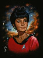 Woman of Star Trek - UHURA by Melanarus
