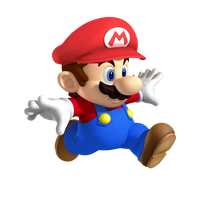 Small/Classic Mario with cap by supermariofan54321