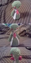Gardevoir Crochet Commission by ScarletPianoWires