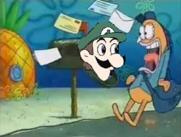 Weegee in Mailbox by HyperEspio