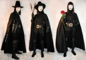 V for Vendetta, full costume by williamshade