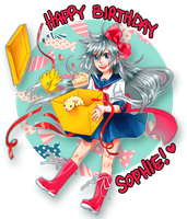+ Happy Birthday Sophie!+ by Bunny-Boss