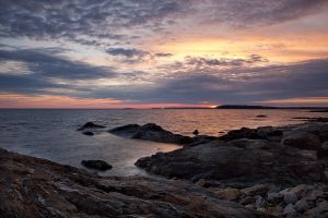 Sunset Rocks by EvaMcDermott