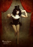 Harlequin two by LilifIlane