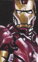 Iron Man ACEO by sullen-skrewt