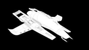 3D Star Fighter WIP by nico89-fx