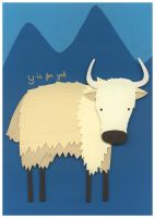 Y is for Yak by renton1313