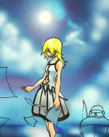 Namine_By_The_Sea_Unfinished by YsCordelon